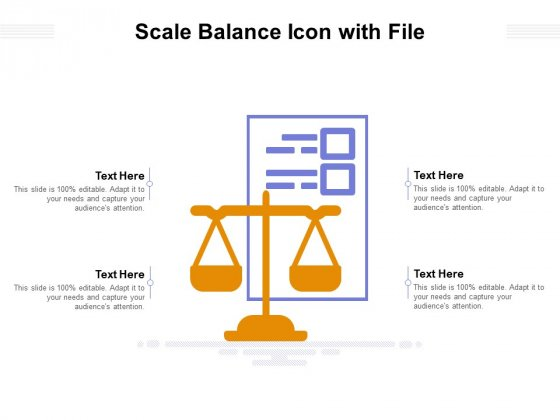 Legal Document With Scale Vector Icon Ppt PowerPoint Presentation Icon Outfit PDF