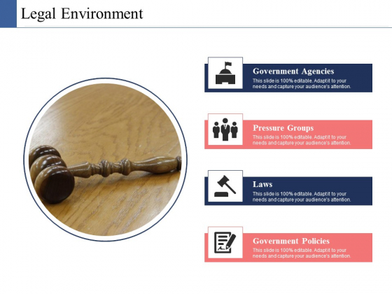 Legal Environment Ppt PowerPoint Presentation Gallery Format Ideas
