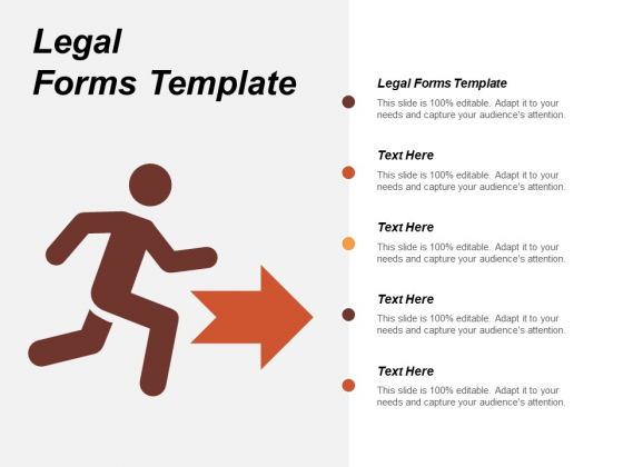 Legal Forms Template Ppt Powerpoint Presentation Infographics Infographic Template Cpb