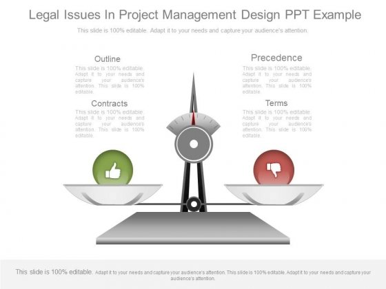 Legal Issues In Project Management Design Ppt Example