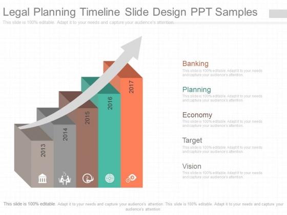 Legal Planning Timeline Slide Design Ppt Samples