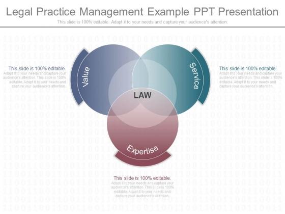 Legal Practice Management Example Ppt Presentation