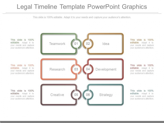 Legal Timeline Template Powerpoint Graphics PowerPoint Templates - Legal timeline template