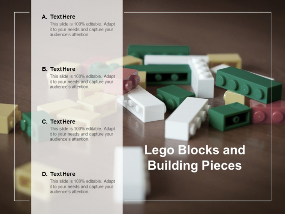 Lego Blocks And Building Pieces Ppt Powerpoint Presentation Outline Diagrams