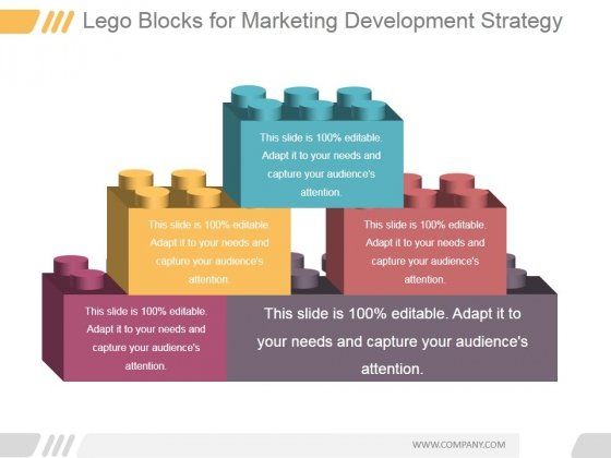 Lego Blocks For Marketing Development Strategy Ppt PowerPoint Presentation Infographics