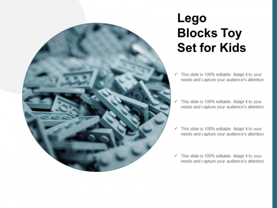 Lego Blocks Toy Set For Kids Ppt Powerpoint Presentation Infographic Template Slides