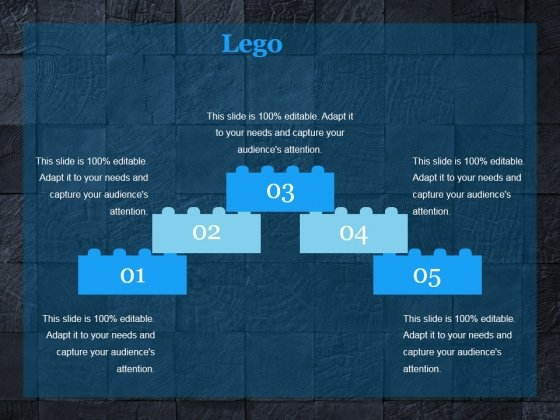 lego ppt powerpoint presentation ideas layout