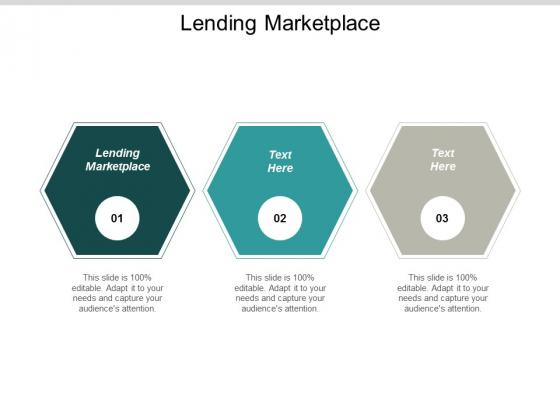 Lending Marketplace Ppt PowerPoint Presentation Portfolio Guidelines Cpb