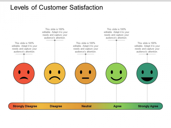 Levels Of Customer Satisfaction Ppt PowerPoint Presentation Infographic Template Designs