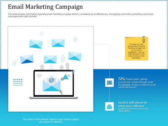 Leveraged Client Engagement Email Marketing Campaign Template PDF