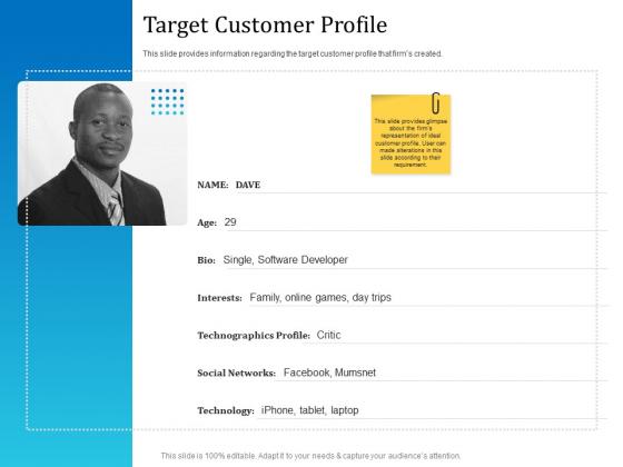 Leveraged Client Engagement Target Customer Profile Download PDF