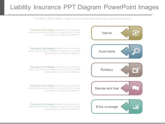 Liability Insurance Ppt Diagram Powerpoint Images