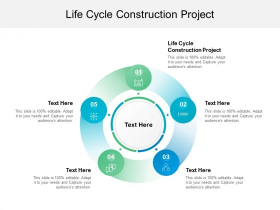 Life Cycle Construction Project Ppt PowerPoint Presentation Gallery Layout Ideas Cpb