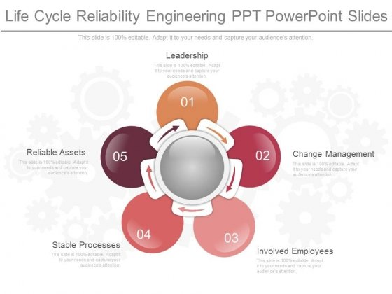 Life Cycle Reliability Engineering Ppt Powerpoint Slides