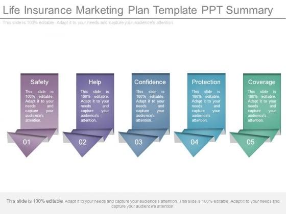 Life Insurance Marketing Plan Template Ppt Summary