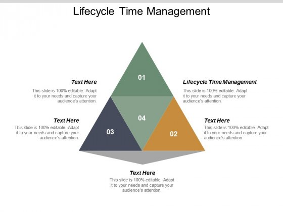 Lifecycle Time Management Ppt PowerPoint Presentation Tips Cpb