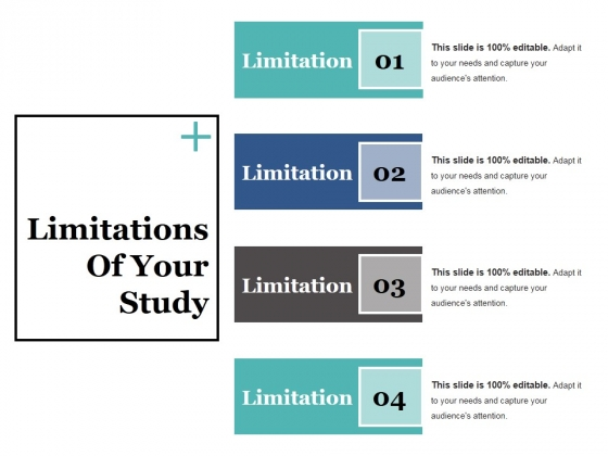 Limitations Of Your Study Ppt PowerPoint Presentation Summary Layout Ideas