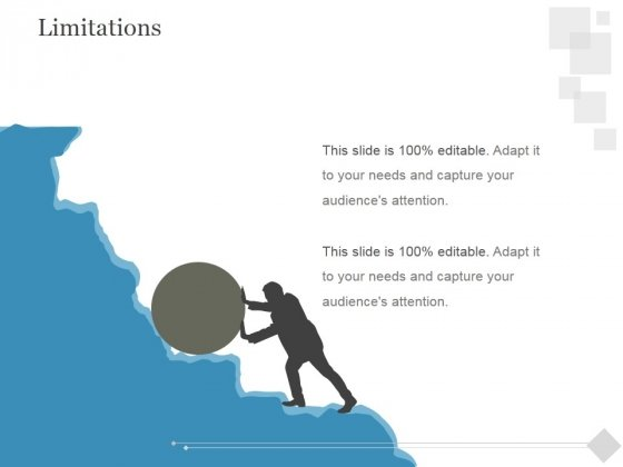 Limitations Ppt PowerPoint Presentation Background Image