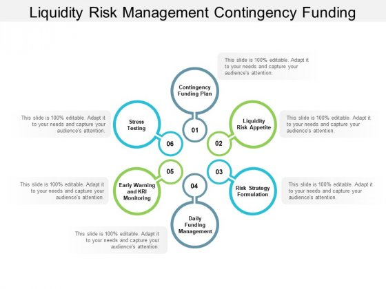 Liquidity Risk Management Contingency Funding Ppt PowerPoint Presentation Ideas Templates