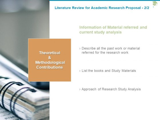 Literature Review For Academic Research Proposal Information Ppt PowerPoint Presentation Gallery Template