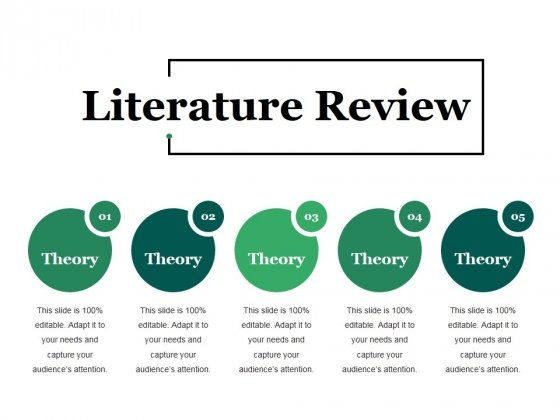 Literature Review Ppt Point Presentation Infographic Template Deck Slide 1
