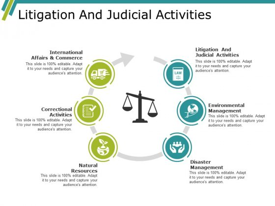 Litigation And Judicial Activities Ppt PowerPoint Presentation Ideas Slide