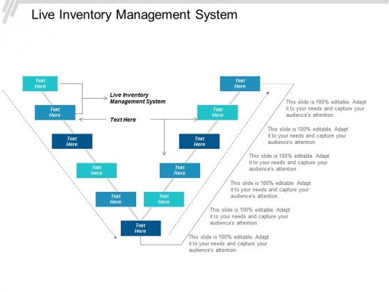 Live Inventory Management System Ppt PowerPoint Presentation Model Sample Cpb