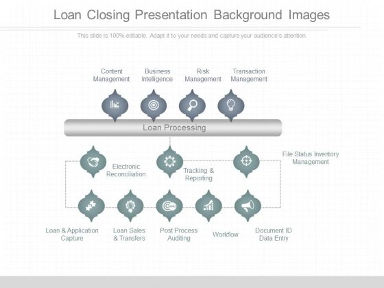 Loan Closing Presentation Background Images