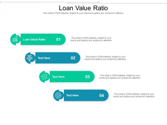 Loan Value Ratio Ppt PowerPoint Presentation Pictures Introduction Cpb Pdf