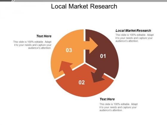Local Market Research Ppt PowerPoint Presentation Portfolio Background Designs Cpb