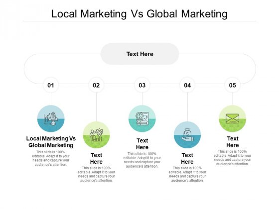 Local Marketing Vs Global Marketing Ppt PowerPoint Presentation Summary Graphics Cpb