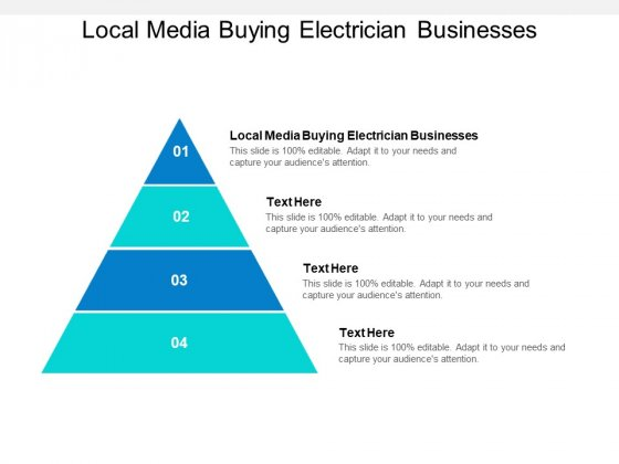 Local Media Buying Electrician Businesses Ppt PowerPoint Presentation Gallery Microsoft Cpb