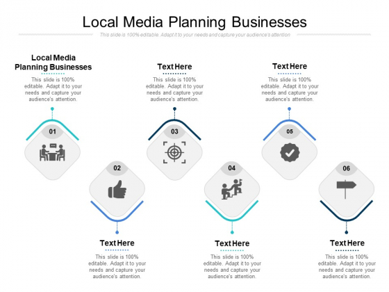 Local Media Planning Businesses Ppt PowerPoint Presentation Inspiration Format Ideas Cpb