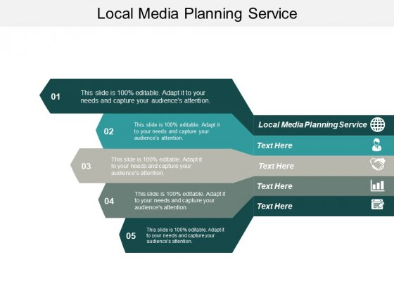 Local Media Planning Service Ppt PowerPoint Presentation Professional Examples Cpb