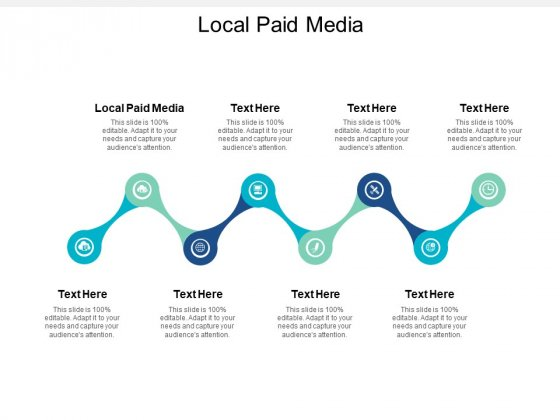 Local Paid Media Ppt PowerPoint Presentation Layouts Influencers Cpb