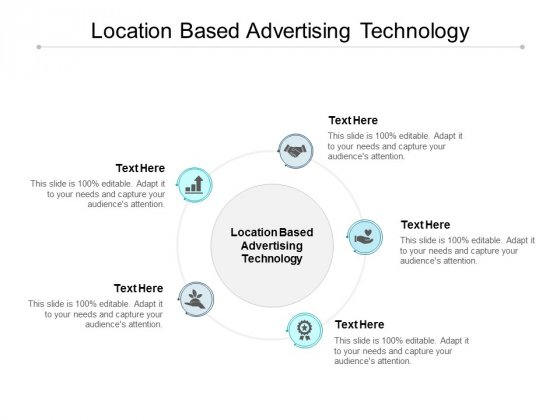Location Based Advertising Technology Ppt PowerPoint Presentation Icon Shapes Cpb