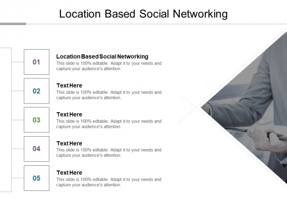 Location Based Social Networking Ppt PowerPoint Presentation Model Demonstration Cpb