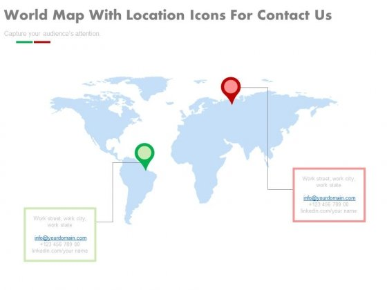 Location Information Of Global Offices PowerPoint Slides