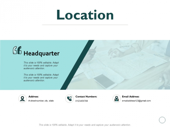 Location Information Ppt PowerPoint Presentation Professional Visual Aids