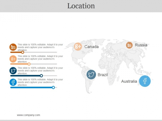 Location Ppt PowerPoint Presentation Icon