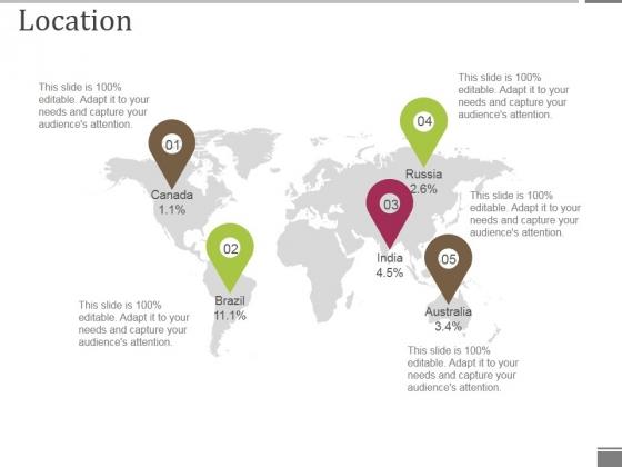 Location Ppt PowerPoint Presentation Ideas Designs Download