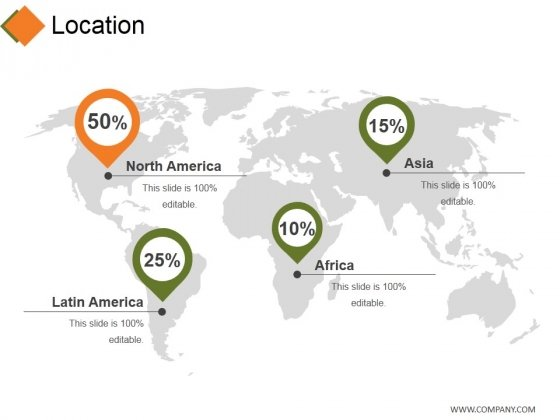 Location Ppt PowerPoint Presentation Professional Slideshow