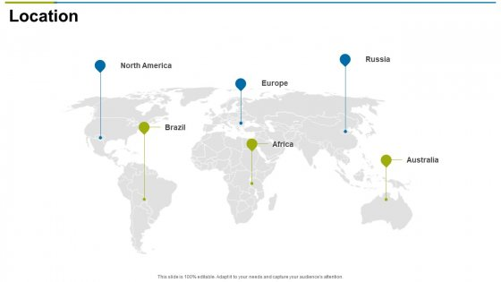 Location Ppt Slides Visual Aids PDF
