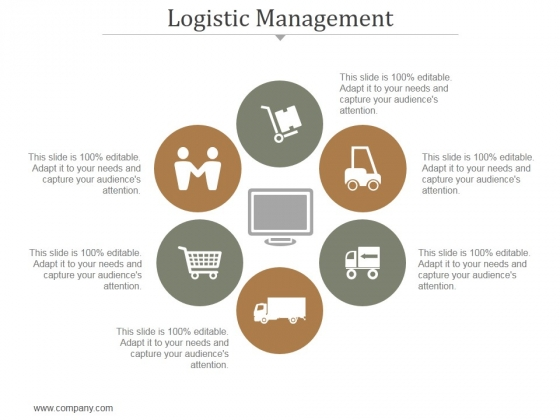 Logistic Management Ppt PowerPoint Presentation Information