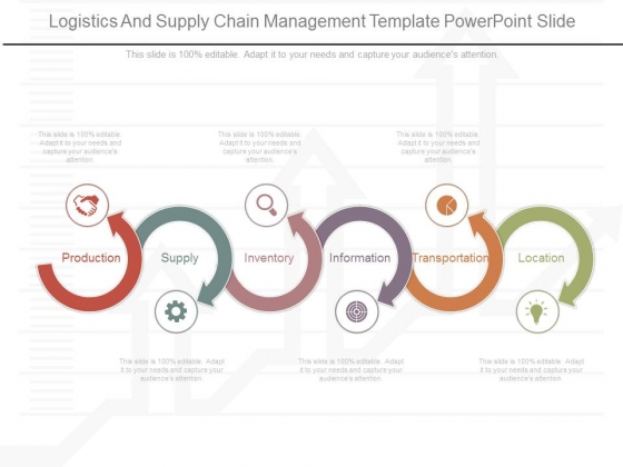 Logistics And Supply Chain Management Template Powerpoint Slide