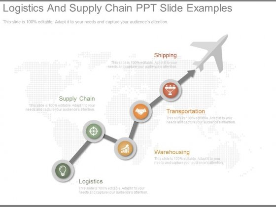 Logistics And Supply Chain Ppt Slide Examples