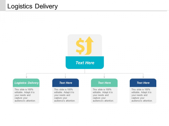 Logistics Delivery Ppt PowerPoint Presentation Model Gallery Cpb