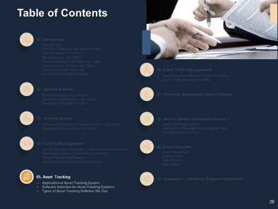 Logistics_For_Events_Ppt_PowerPoint_Presentation_Complete_Deck_With_Slides_Slide_28