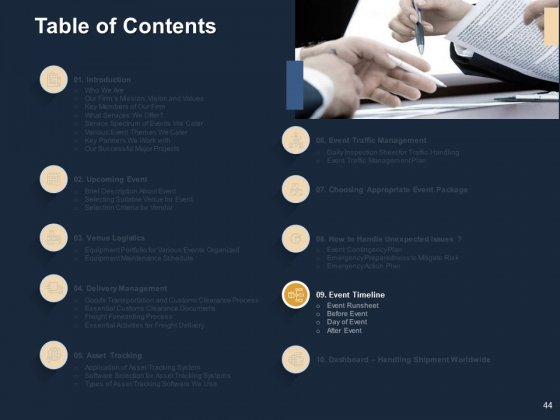 Logistics_For_Events_Ppt_PowerPoint_Presentation_Complete_Deck_With_Slides_Slide_44