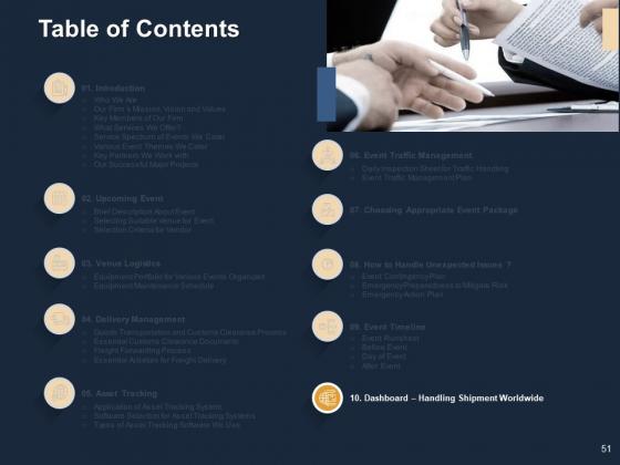 Logistics_For_Events_Ppt_PowerPoint_Presentation_Complete_Deck_With_Slides_Slide_51